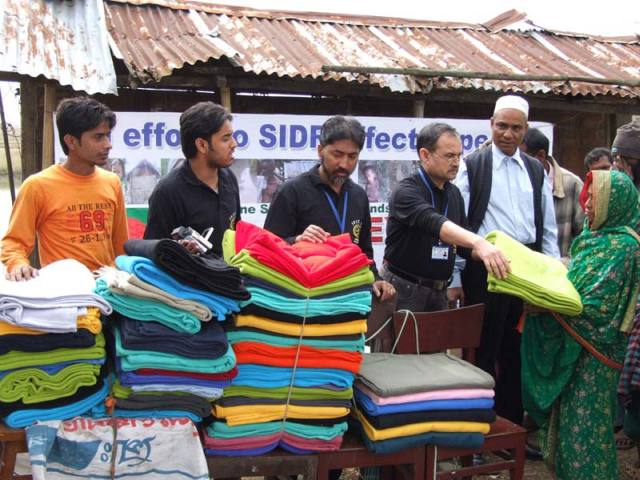 Distributing Blankets