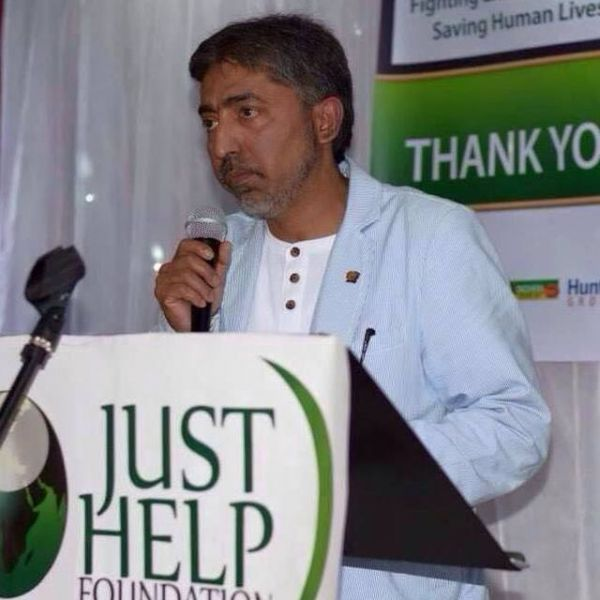 Mizanur Rahman of the Just Help Foundation